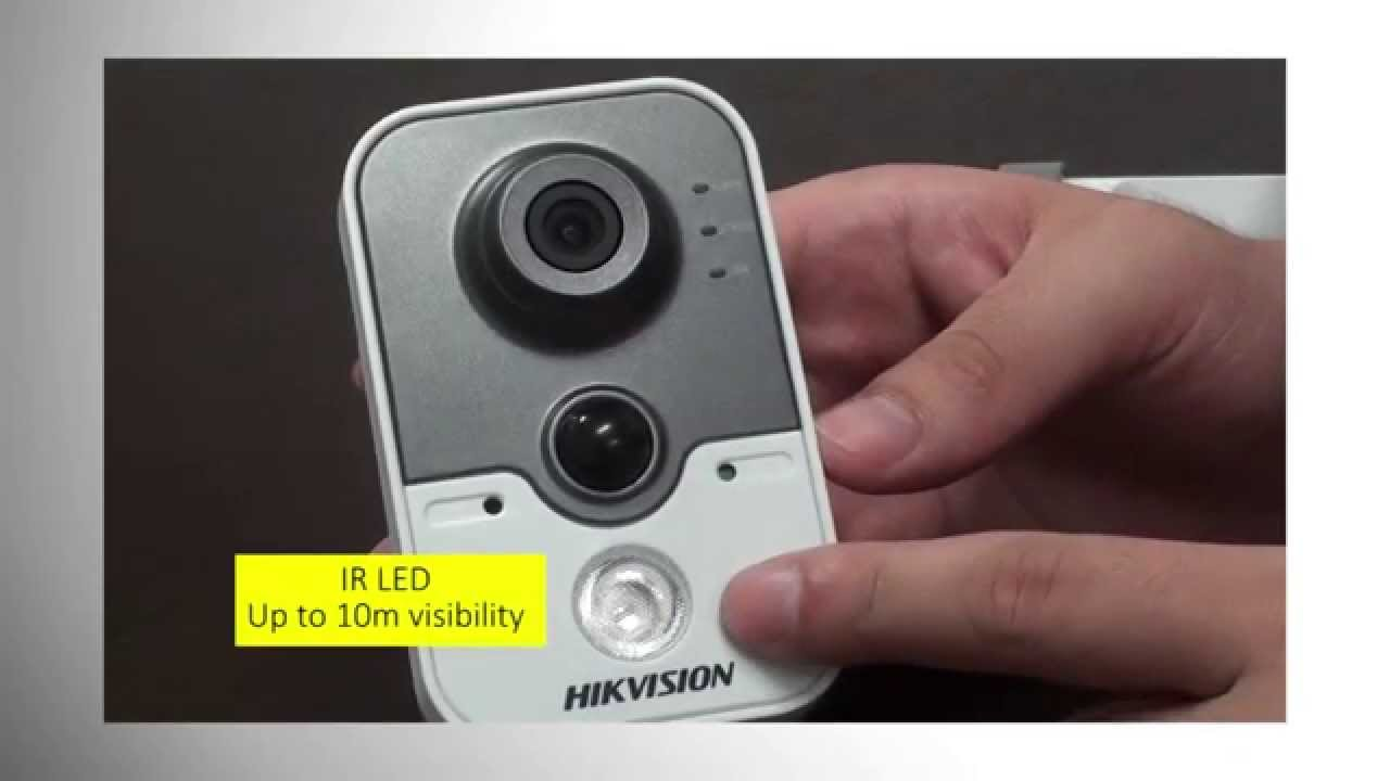 Hikvision HD IR Cube IP Cameras Keeps Homes and Businesses Safe