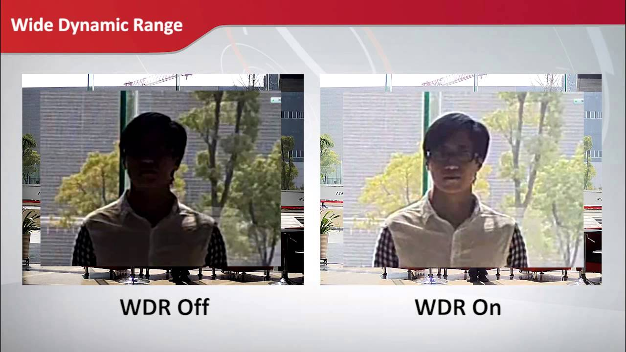 Hikvision Advanced Imaging Technology - WDR, 3DDNR & Low-light