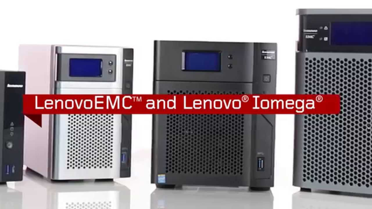 LenovoEMC Network Storage Desktop Family