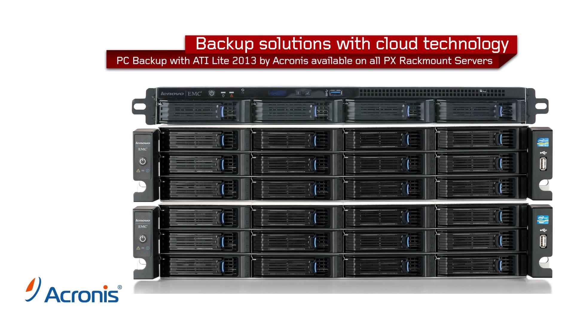 LenovoEMC Network Storage Rackmount Family