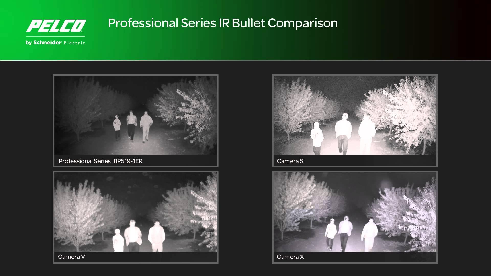 Sarix Professional Adaptive IR Comparison - Night Time Orchard