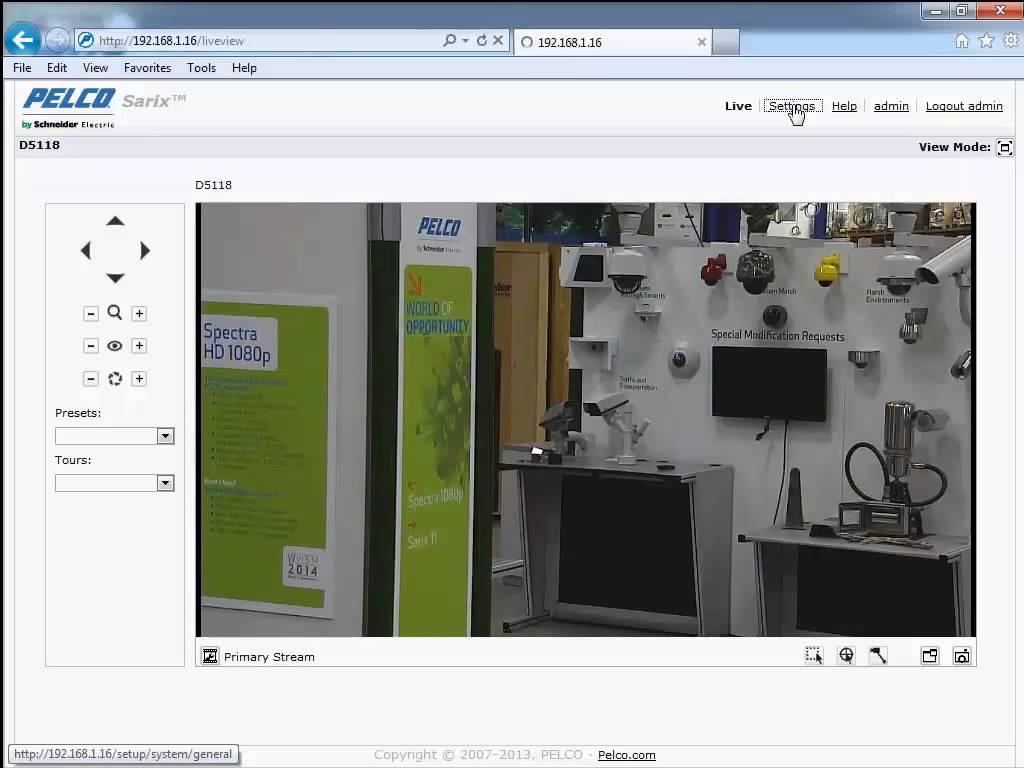 Advanced Setup of Pelco IP Cameras on Milestone Xprotect Enterprise 1