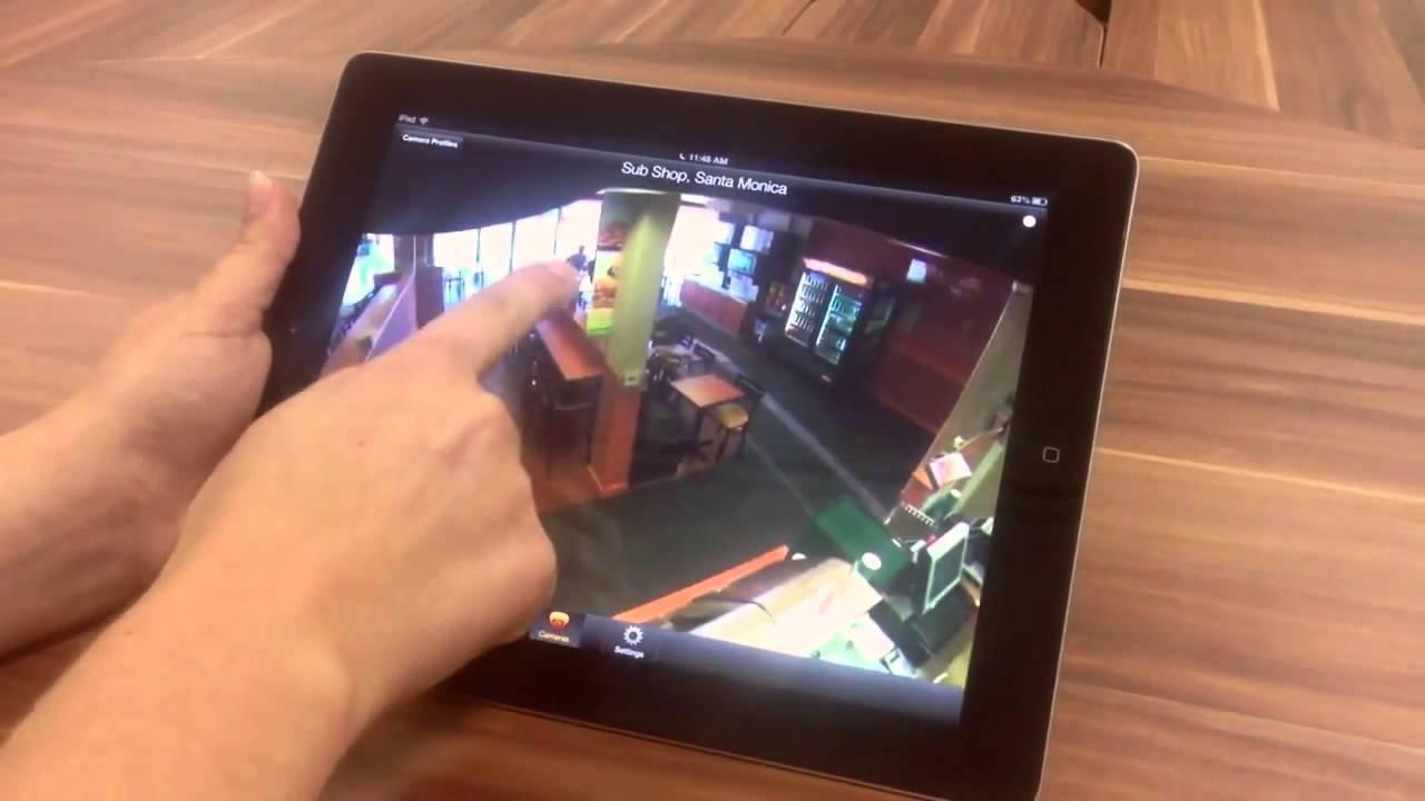 Evolution 360 Degree Camera ONVUE360 App