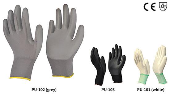 Marvel : PU Coated Gloves (Flex-E-PU)