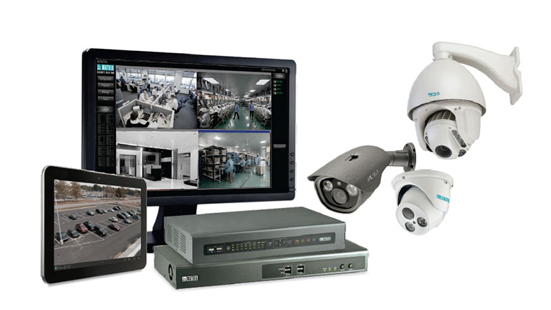 Matrix video surveillance solution for hospitality