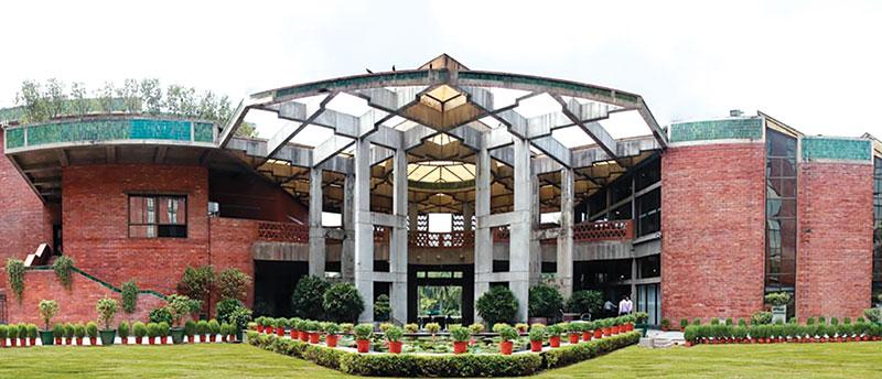 Apollo fire detectors protecting India Habitat Centre