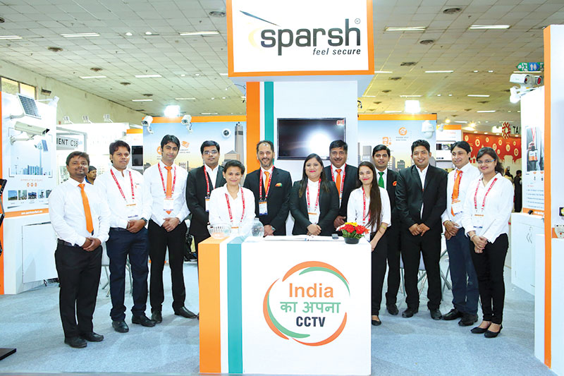 """Sparsh showcases its solutions in """"3rd Smart Cities Expo 2017"""""""
