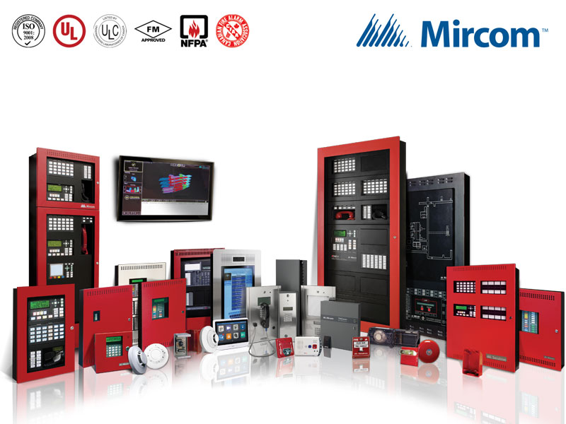 Mircom Intelligent Fire Detection & Alarms