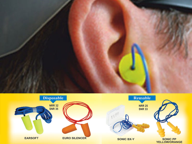 Safety Ear Plugs, Euro Security