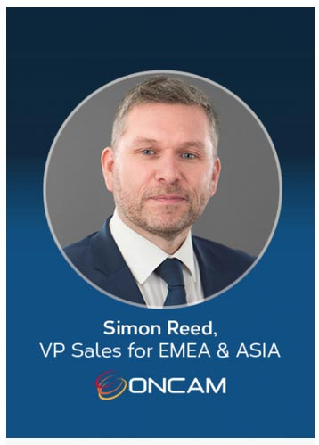 Oncam Appoints Simon Reed to Vice President of Sales for EMEA and Asia