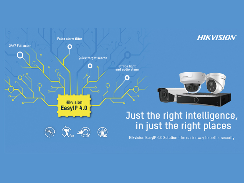 Hikvision Launches EasyIP 4.0 Cameras and NVRs