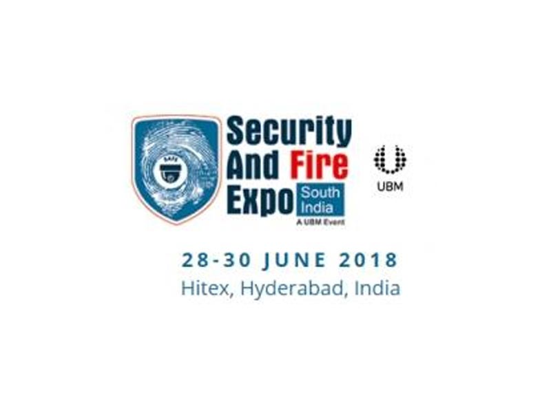 4th edition of the Security and Fire Expo – South India set to be hosted in Hyderabad