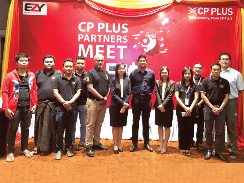 CP PLUS alights in Myanmar with introductory partner's meet