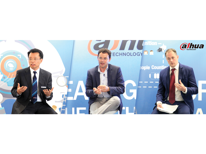 Dahua Technology discusses GDPR & Cybersecurity with industry leaders at IFSEC