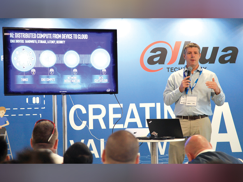 Dahua Technology presents FPGA in AI  with Intel at IFSEC 2018