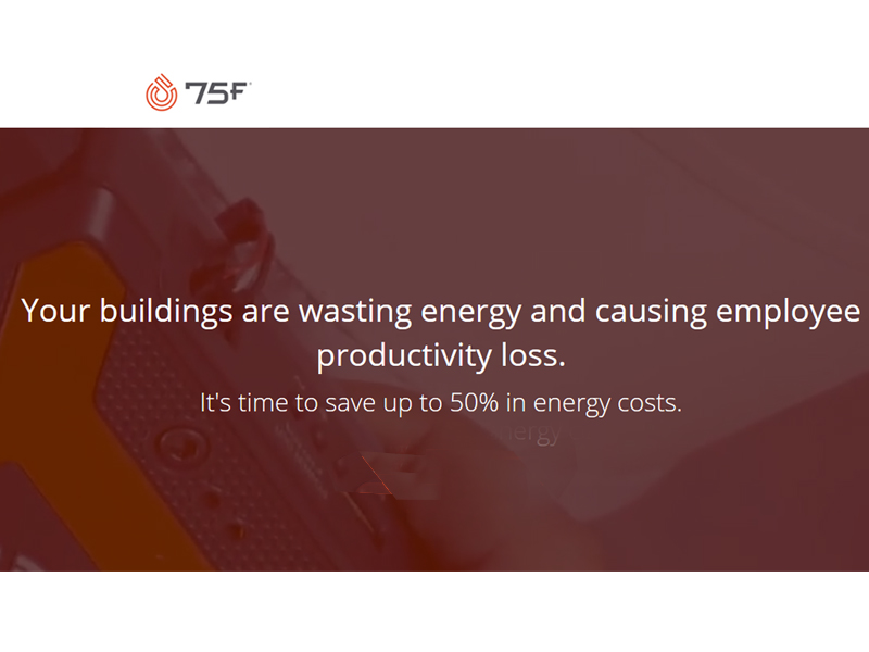 75F is a fast-growing Building Intelligence Solutions provider
