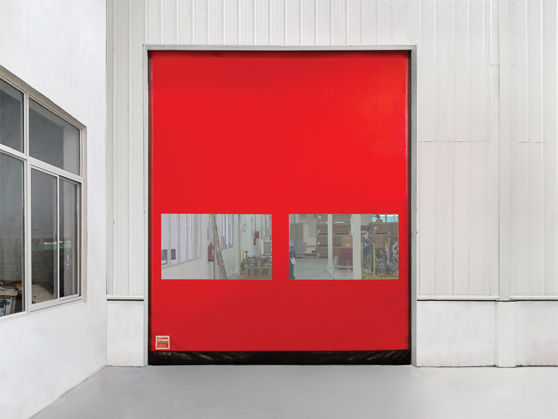 High Speed Self Repairing Door by Gandhi Automations