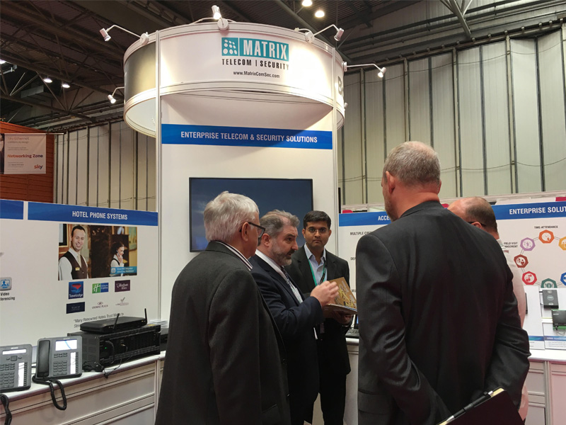 Matrix Completed Participation in the Channel Live 2018 held in NEC Buckingham, UK