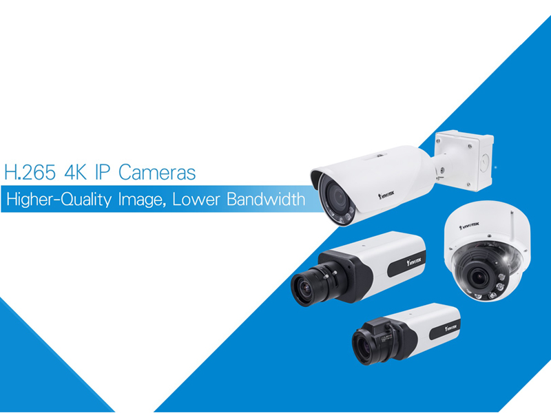 Vivotek launches ultra HD cameras with four new products