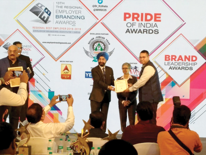 CP PLUS bestowed with the Uttar Pradesh pride of India award