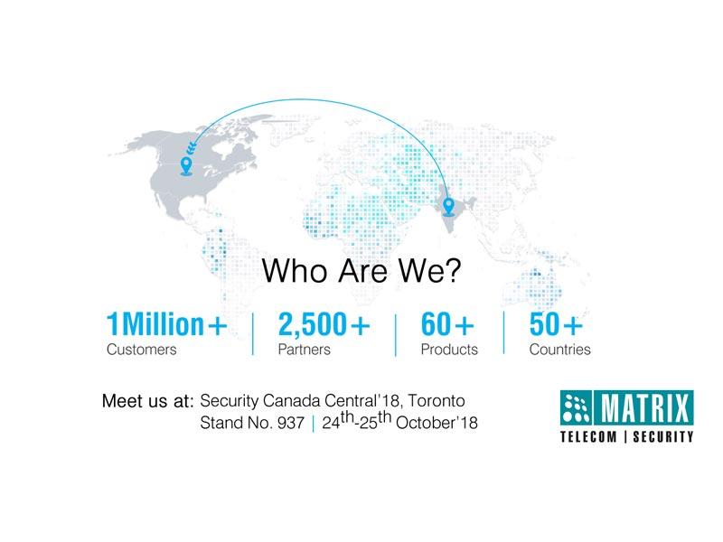 Matrix ComSec Unveils Enterprise Security & Telecom Solutions in Canada