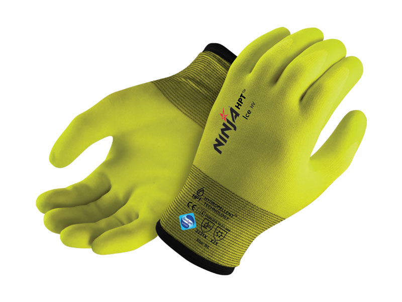 NINJA® offers you the perfect glove for working in low temperatures