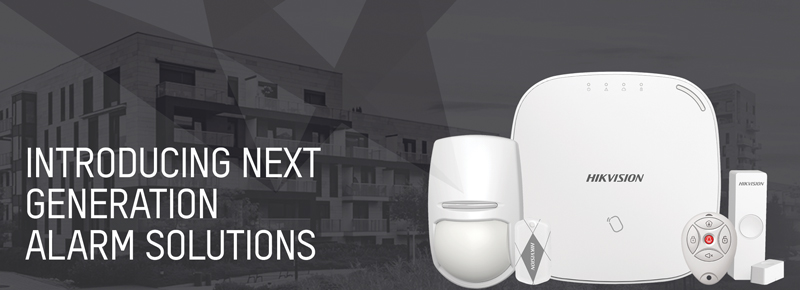 Hikvision introduces the latest innovation in intruder alarm systems