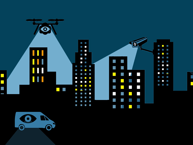 The surveillance market in India has tremendous growth prospects