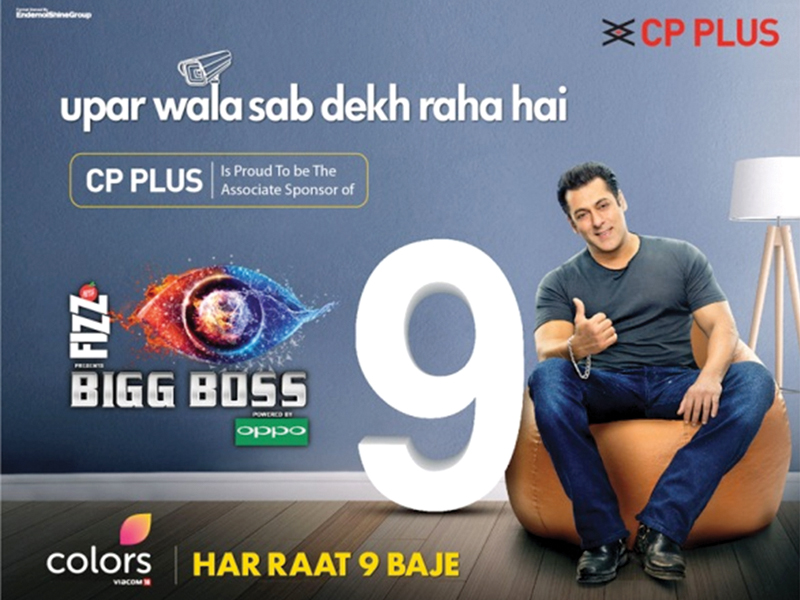 CP PLUS & BIGG BOSS Rock Together Once Again