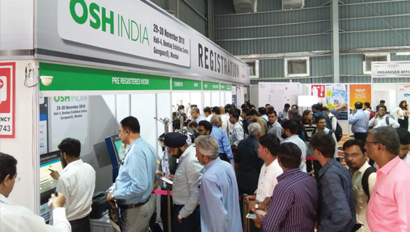 OSH India 2018 witnessed the largest congregation of prime India & Global brands