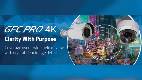 Pelco introduces GFC professional 4K camera to provide clarity with purpose