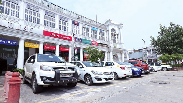 Smart city parking & security management solution in Connaught Place New Delhi