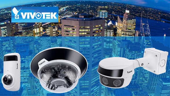 VIVOTEK launches panoramic & multi-sensor cameras