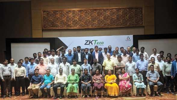 ZKTeco organizes client meet at Chennai