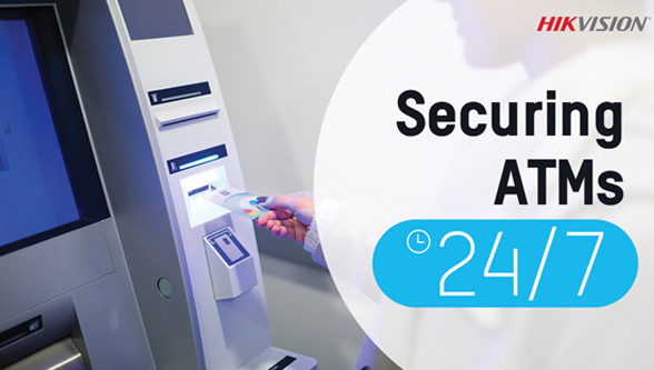 Securing ATMs 24/7 with help of intelligent security technology