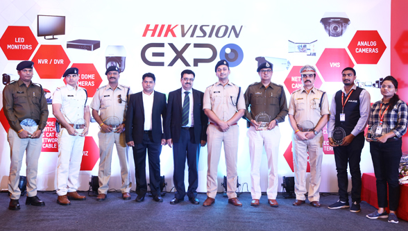 Hikvision Expo concluded bravery awards to 7 police personnel