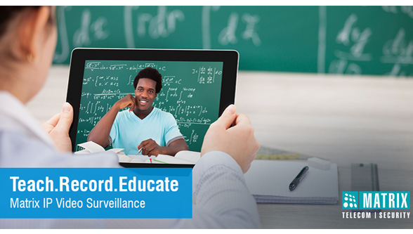 IP video surveillance for education