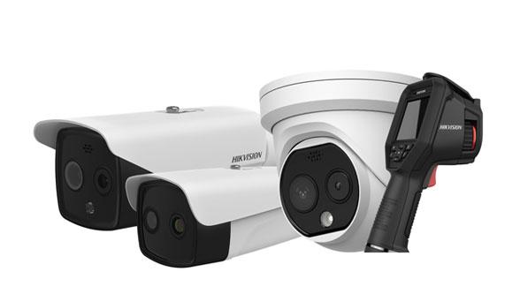 Hikvision introduces temperature screening thermographic cameras