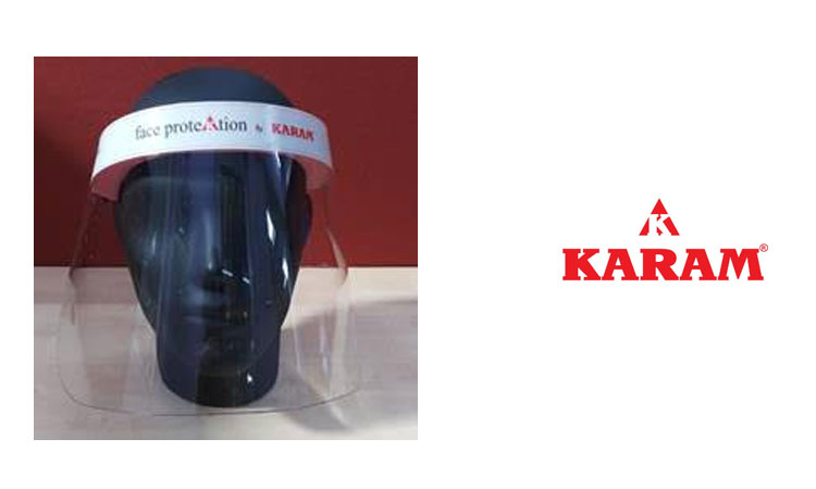 KARAM starts production of face shields amidst the Covid-19 pandemic