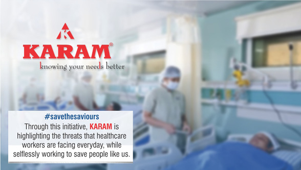 KARAM's Savethesaviours campaign for healthcare workers
