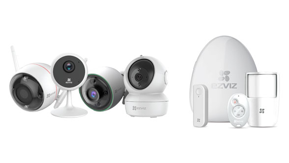 EZVIZ Smart Home Cameras and Alarms, Prama Hikvision
